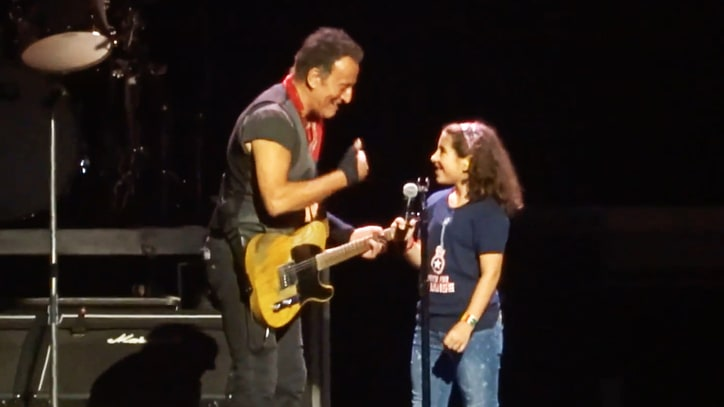Watch Bruce Springsteen Recruit 10-Year-Old for 'Blinded by the Light'