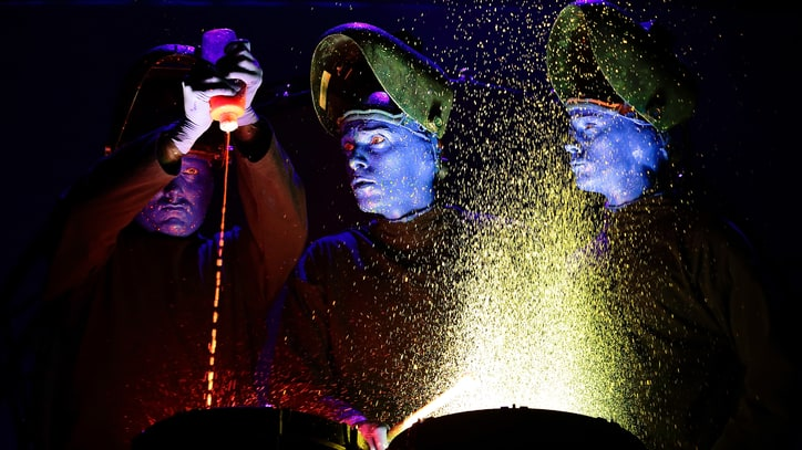 Watch: Blue Man Group Show Off Their Invention Laboratory