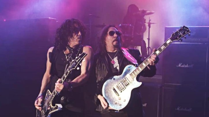 Watch Ace Frehley Reunite With Paul Stanley in 'Fire and Water' Video