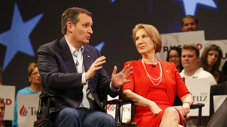 How Picking Carly Fiorina as VP Could Backfire for Ted Cruz