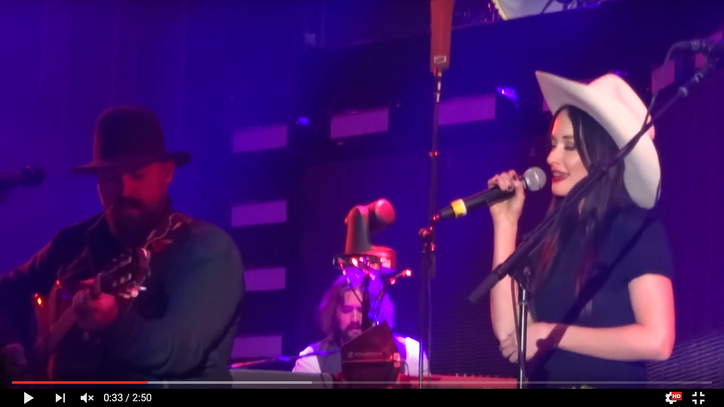 See Kacey Musgraves and Zac Brown Band's Hank Williams Jam
