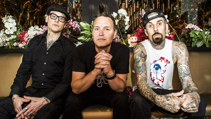 Blink-182 Celebrate Rebirth at Goofy L.A. Karaoke Bash