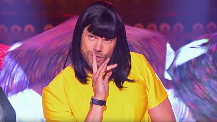 Watch Joel McHale Play Bjork on 'Lip Sync Battle'