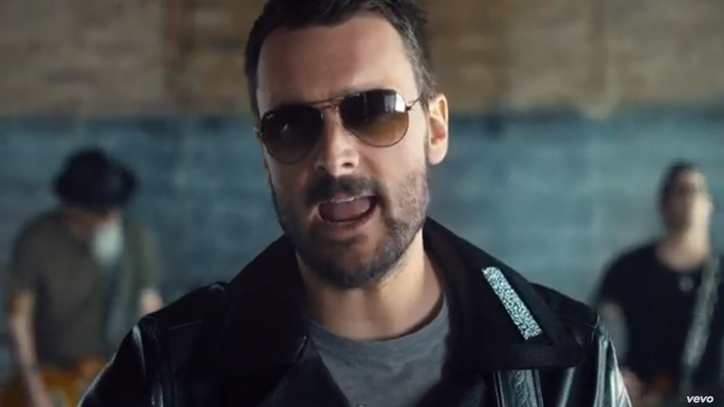 Watch Eric Church's Nod to Music Geeks in 'Record Year' Video