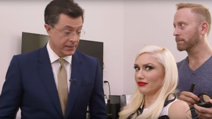 Watch Gwen Stefani, Stephen Colbert Argue About 'Bananas' Spelling