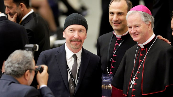 Watch U2's the Edge Perform Sistine Chapel Concert