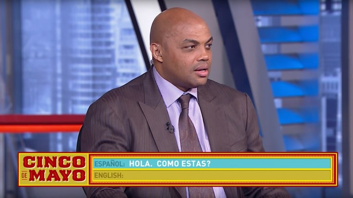 Happy Cinco de Mayo, Here's Charles Barkley Butchering Basic Spanish