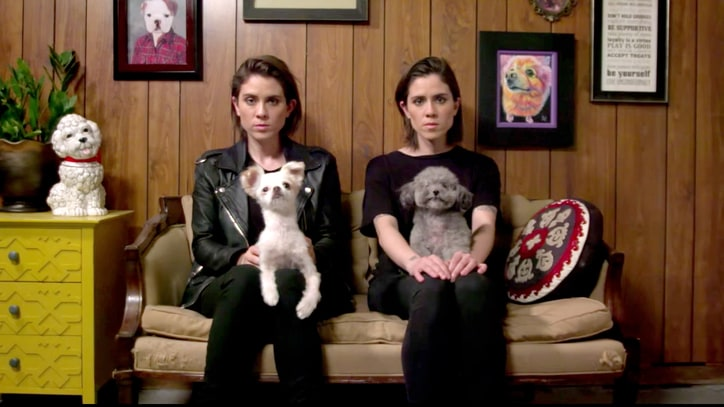 Watch Tegan and Sara's Dog Groomer-Inspired '100x' Video