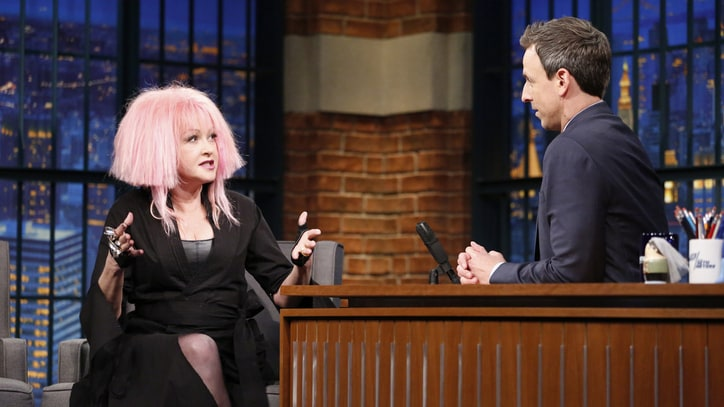 Cyndi Lauper Talks Keeping Controversial North Carolina Gig