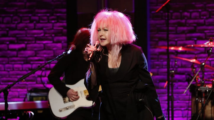 See Cyndi Lauper Channel Wanda Jackson on 'Seth Meyers'