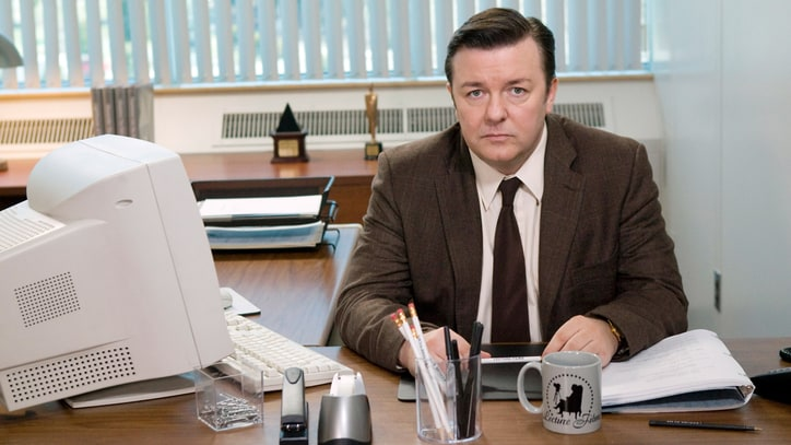 Ricky Gervais' 'Office' Character Inspired by 'Braveheart,' Simon & Garfunkel