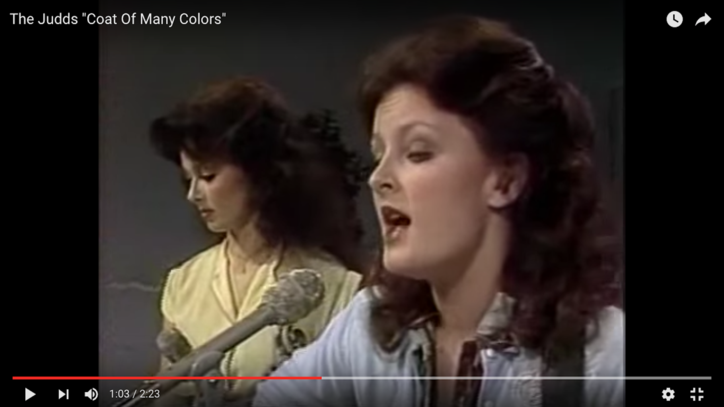 Flashback: See the Judds Cover Dolly Parton's 'Coat of Many Colors'