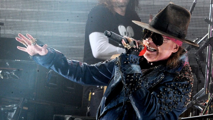Axl Rose on AC/DC Gig: 'I'm Just Trying to Do It Justice for the Fans'
