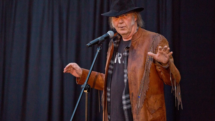 5 Things We Learned at Neil Young's 'Earth' Album Preview