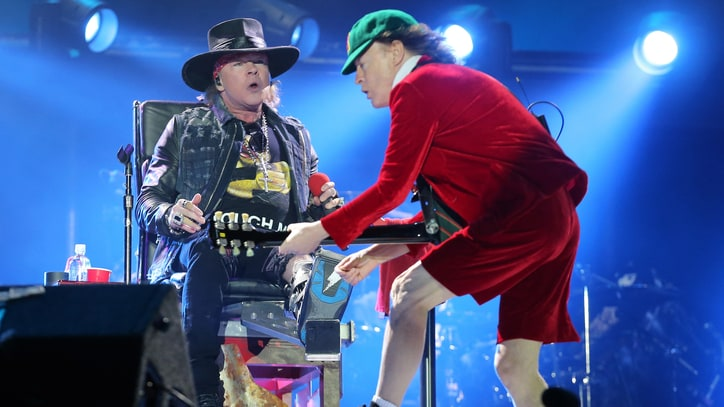 Watch AC/DC Perform First Show With Axl Rose