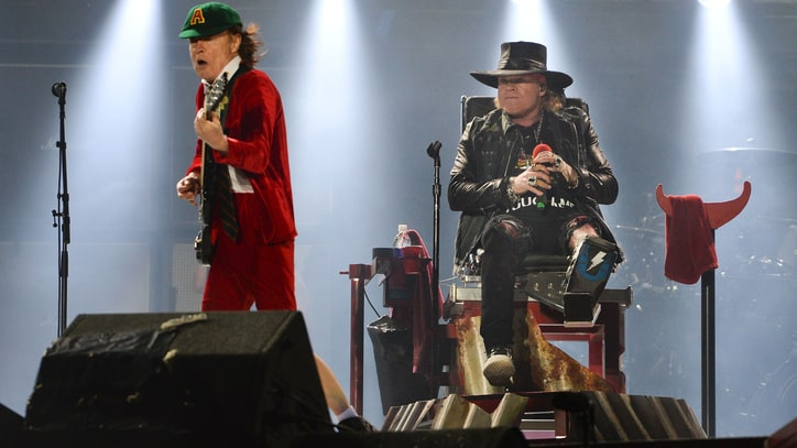 Axl Rose Triumphs at AC/DC Debut in Lisbon