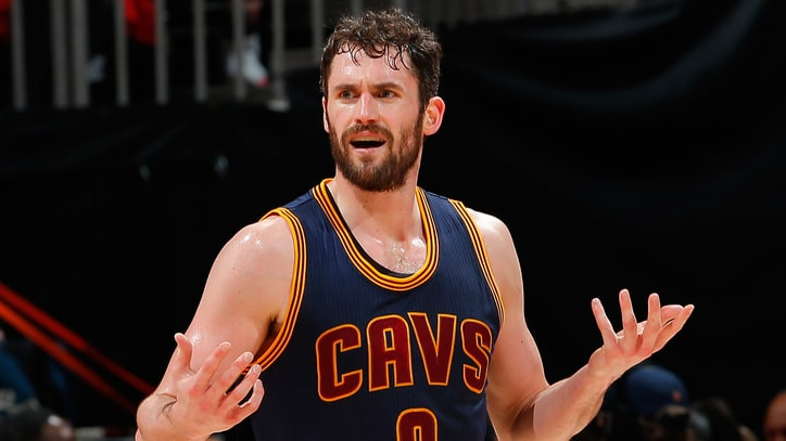 Kevin Love Cuts an Interview Short to Watch 'Game of Thrones'