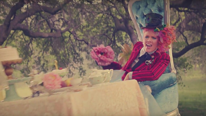 Watch Pink Play Human Chess in Vibrant 'Just Like Fire' Video