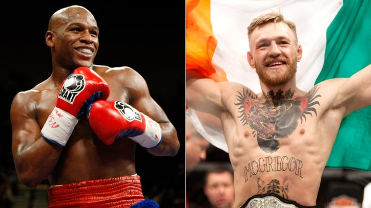 Conor McGregor and Floyd Mayweather Hype 'Billion-Dollar' Brawl