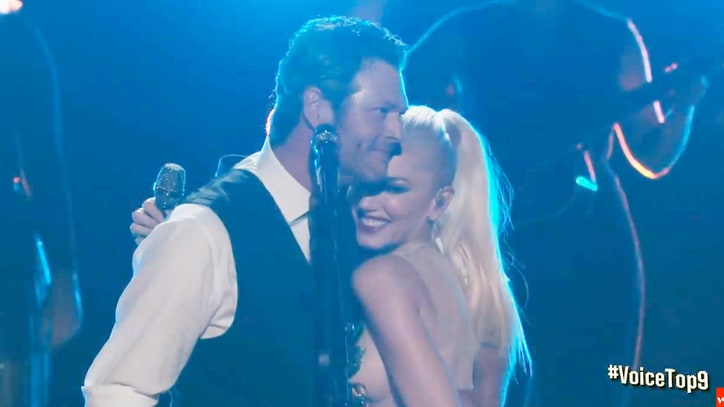 See Blake Shelton, Gwen Stefani Duet on 'Go Ahead and Break My Heart'