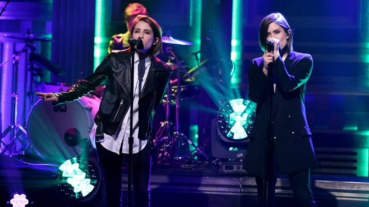 Watch Tegan and Sara Perform Lovesick Single 'Boyfriend' on 'Fallon'