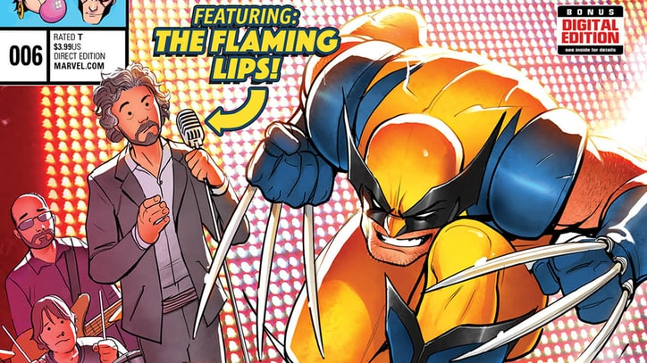 The Flaming Lips Meet 'X-Men' in Retro Marvel Comic