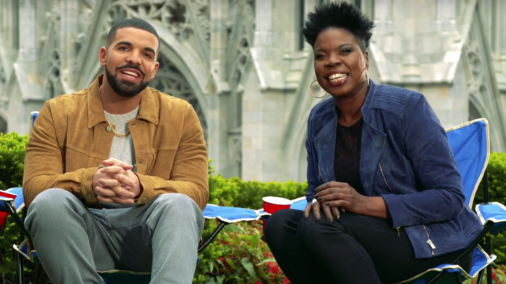 Watch Drake, Leslie Jones' Buttocks-Obsessed 'SNL' Promo