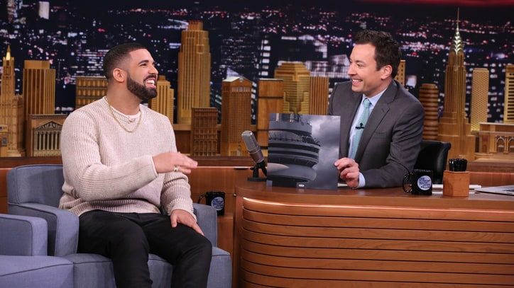 Watch Drake Talk 'Mini-Drake' Meme, Play Faceketball on 'Fallon'