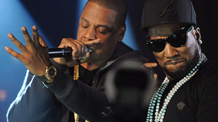 Young Jeezy Joined Onstage in NYC by Jay-Z, Kanye West