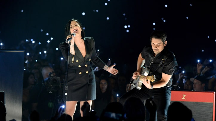 Hear Brad Paisley, Demi Lovato's Racy Duet 'Without a Fight'