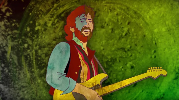 Watch Eric Clapton Revisit Career in Animated 'Spiral' Video