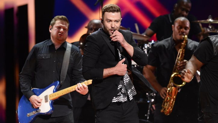 See Justin Timberlake Debut 'Can't Stop the Feeling' at Eurovision