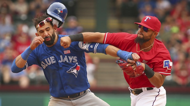 Jose Bautista Gets Decked, Internet Explodes