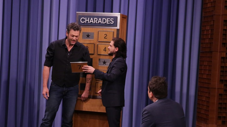 Watch Blake Shelton Play Charades with Kit Harington, Rose Byrne
