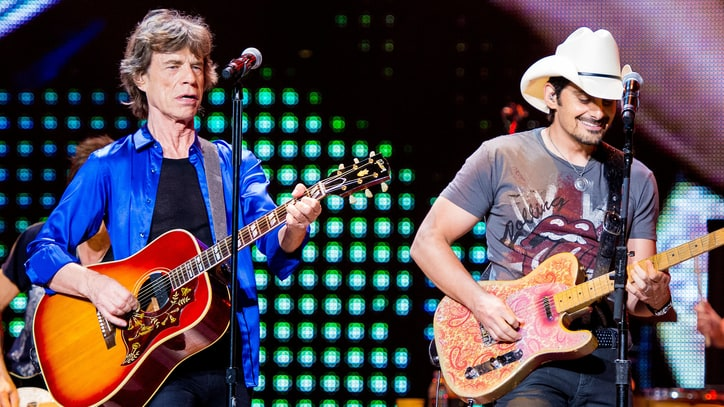 Brad Paisley Recruits Mick Jagger, Timbaland for New Album