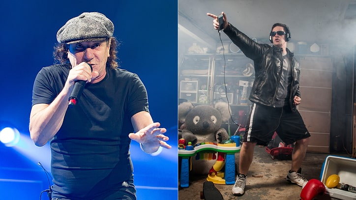 Hear Brian Johnson, Jim Breuer Screech New Song 'Mr. Rock n Roll'