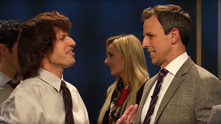 See Andy Samberg, Seth Meyers Revive Lost 'SNL' Sketch