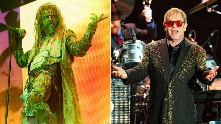 See Rob Zombie's Touching Tale of Meeting Elton John