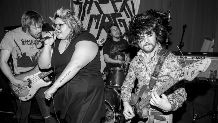 Sheer Mag on Their Loudest Show, Philly DIY 'Family'