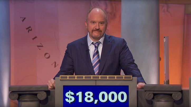 Watch Louis C.K. Win $50,000 For Charity on 'Jeopardy'