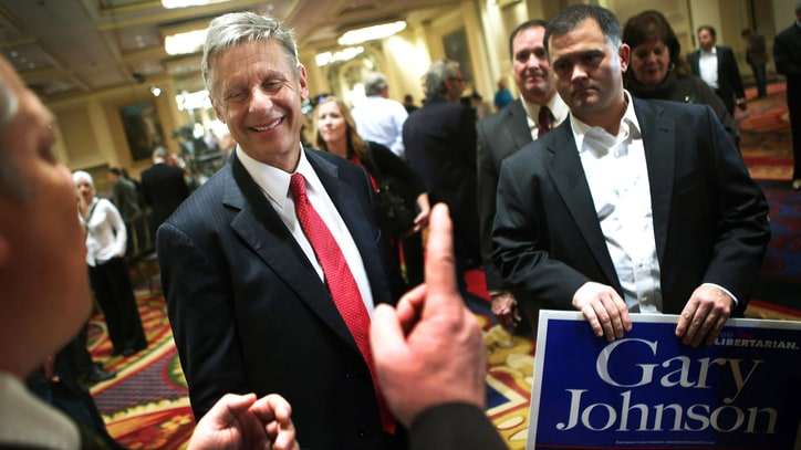 Libertarian Nominee on the Koch Brothers and Being a Trump Alternative