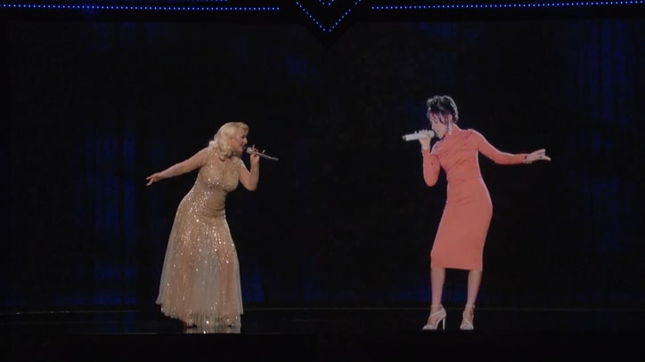 Whitney Houston Estate Pulls Hologram Duet With Christina Aguilera