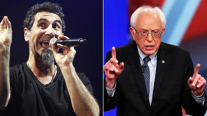 System of a Down's Serj Tankian on Bernie Sanders: 'I'm Rooting for Him'