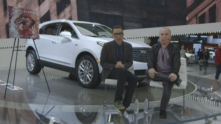Watch Paul Simon, Fred Armisen Invade NY Auto Show