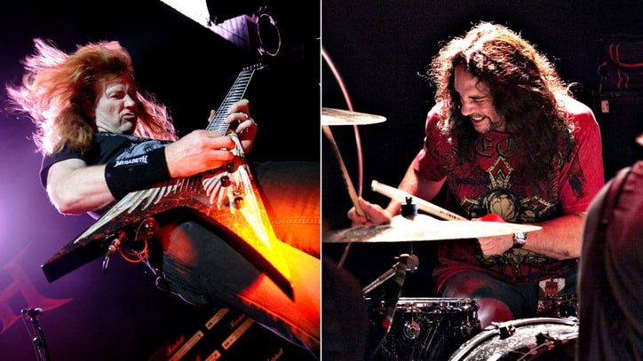 Read Dave Mustaine's Moving Homage to Late Megadeth Drummer Nick Menza