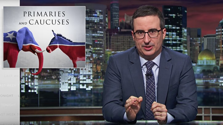Watch John Oliver Explain Baffling Primary-Caucus System