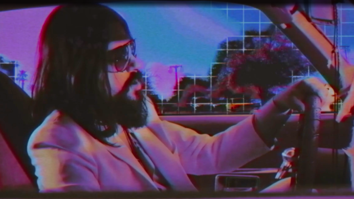 Watch Shooter Jennings' Bizarre Eighties Homage in 'Love Kills' Video