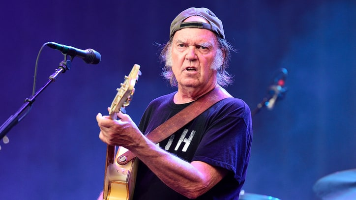 Neil Young: I'm OK With Donald Trump Using 'Rockin' in the Free World'