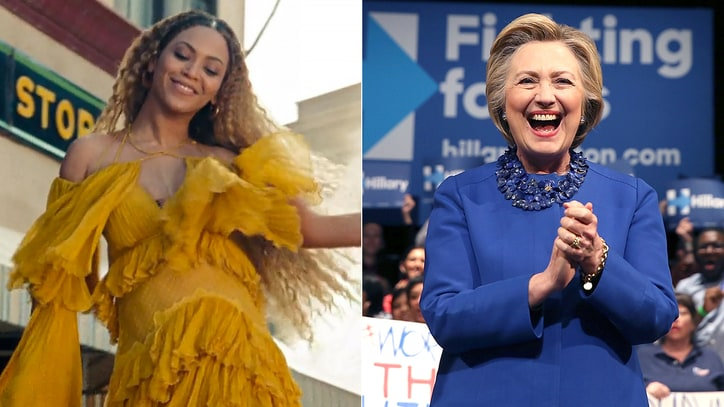 Hillary Clinton on Beyonce's 'Lemonade': 'It's Great'