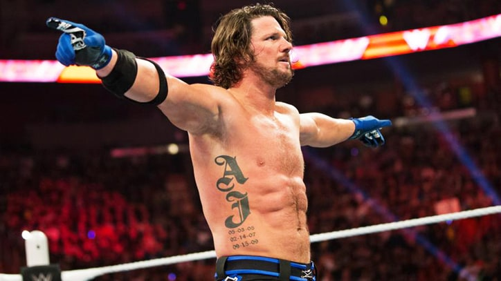 AJ Styles on Working With Roman Reigns and Why He Prefers the Dry Look